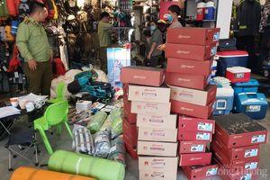 Đà Nẵng: Tạm giữ hơn 2.000 sản phẩm hàng hóa không rõ nguồn gốc xuất xứ, nghi giả mạo nhãn hiệu