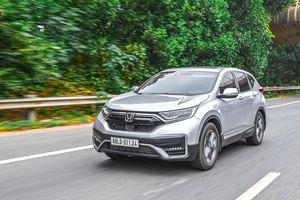Giá lăn bánh các phiên bản Honda CR-V 2021 tại Việt Nam