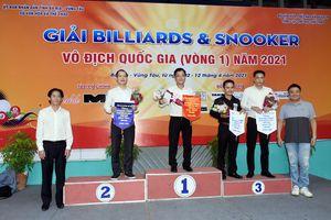 Võ Phước Thành giành giải Nhất nội dung carom 1 băng