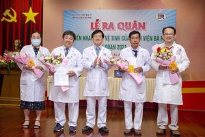 Bệnh viện Bà Rịa cử 28 cán bộ chuyên môn hỗ trợ tuyến huyện