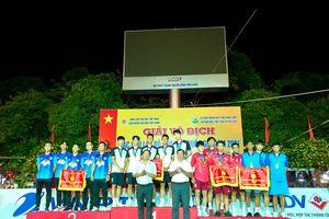 Kết thúc Giải Vô địch các CLB cầu mây quốc gia 2021: Đồng Nai giành được 1 HCV, 4 HCĐ