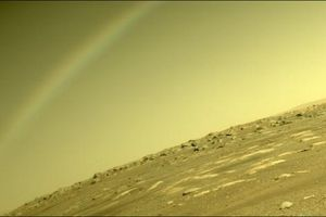 Giải mã hiện tượng cầu vồng xuất hiện trên sao Hỏa