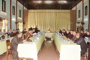 Quảng Nam: Ban Thường trực Ban Trị sự Phật giáo tỉnh họp mở rộng
