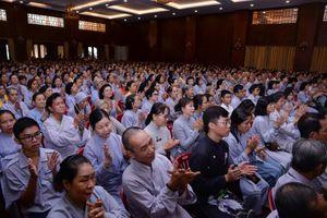 TP.HCM: Ban Hướng dẫn Phật tử thông báo cấp giấy chứng nhận Phật tử