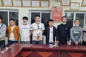 Phát hiện 8 người Trung Quốc nhập cảnh trái phép