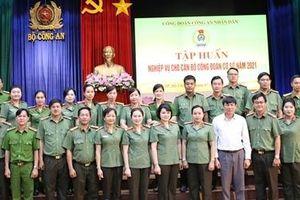 Công đoàn CAND khai mạc lớp tập huấn nghiệp vụ thứ 2 tại Khu vực phía Nam