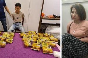 Người phụ nữ cầm đầu đường dây mua bán gần 60kg ma túy