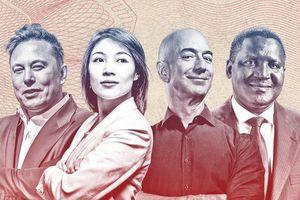 Những 'siêu con số' trong danh sách tỷ phú thế giới 2021