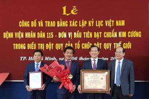 Bệnh viện đầu tiên của Việt Nam đạt chuẩn kim cương về điều trị đột quỵ