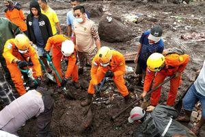Indonesia gấp rút tìm người mất tích do lũ lụt và lở đất