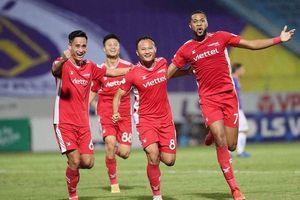 Trọng Hoàng tỏa sáng, Viettel FC lần đầu thắng Hà Nội FC