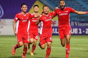 Đánh bại đối thủ cùng thành phố, Viettel đẩy Hà Nội FC rời xa top dẫn đầu