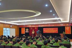 Tập huấn điều lệnh quân sự võ thuật toàn lực lượng Cảnh sát bảo vệ