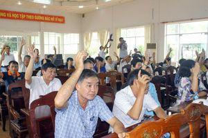Cử tri nơi cư trú thống nhất Bí thư Hậu Giang ứng cử ĐBQH