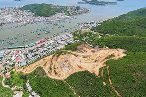 Phá núi, bạt rừng phòng hộ để làm dự án biệt thự ở Nha Trang