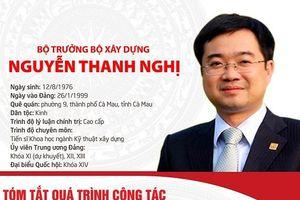 Tóm tắt quá trình công tác của tân Bộ trưởng Bộ Xây dựng Nguyễn Thanh Nghị