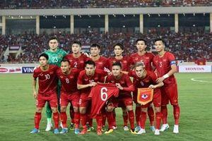 Đội tuyển Việt Nam tiếp tục dẫn đầu khu vực Đông Nam Á
