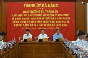 Đà Nẵng sẽ ban hành Nghị quyết để phát triển riêng huyện Hòa Vang