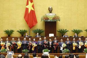 Một số hình ảnh tại phiên họp toàn thể của Quốc hội sáng ngày 8/4