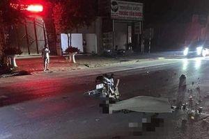 Nam sinh lớp 12 tử vong tại chỗ sau va chạm xe máy liên hoàn