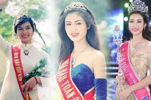 6 người đẹp ở Hà Nội từng đăng quang Hoa hậu Việt Nam
