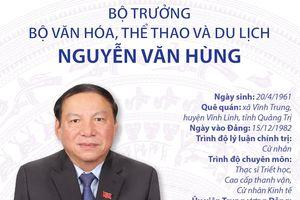 Bộ trưởng Bộ Văn hóa, Thể thao và Du lịch Nguyễn Văn Hùng