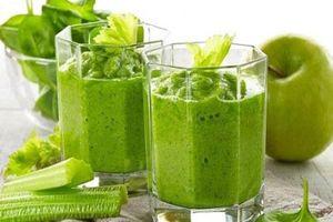 Sai lầm khi uống nước ép cần tây giảm cân, khiến bạn dễ đón bệnh