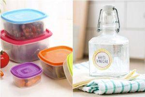 Dùng thứ này để khử mùi trong hộp nhựa đựng thực phẩm, hiệu quả tức thì