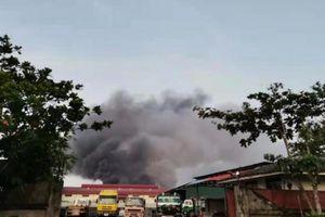 Myanmar tìm thấy công cụ phá hoại, đốt phá nhà máy dệt may Trung Quốc
