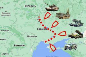Nga đã mở rộng mặt trận đến 2.000 km, sẵn sàng tấn công Ukraine nếu có biến