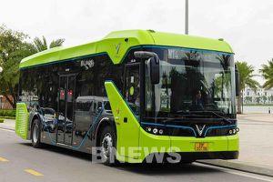 VinBus đưa vào vận hành tuyến xe buýt điện thông minh đầu tiên của Việt Nam