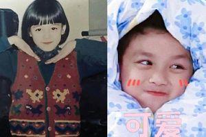 Hình ảnh thời thơ bé đáng yêu, 'cute hạt me' của dàn cast 'Trường ca hành'