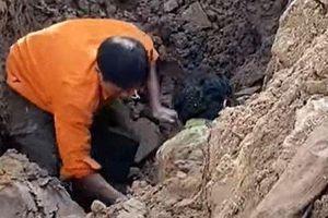 Sự thật về thông tin đào được người đàn ông dưới lòng đất ở Hà Nội