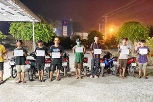 Bắt giữ nhóm đối tượng tổ chức đua xe trái phép tại thị trấn Tịnh Biên