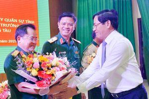 Đại tá Nguyễn Tâm Hùng được bổ nhiệm giữ chức Chỉ huy trưởng Bộ CHQS tỉnh