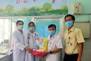 Trẻ sơ sinh bị bỏ rơi tại Bệnh viện Vũng Tàu hồi phục tốt