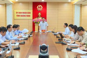 UBND tỉnh nghe báo cáo kết quả giải quyết kiến nghị của cử tri gửi đến HĐND tỉnh
