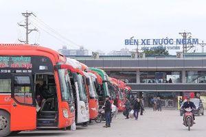 Dự kiến lượng khách tại bến xe Hà Nội tăng 250% dịp nghỉ lễ 30/4-1/5