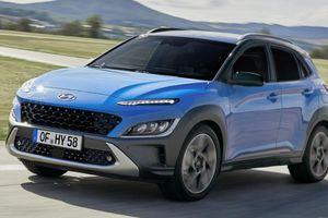 Hyundai Kona bản nâng cấp sắp ra mắt công chúng Malaysia