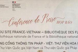 Thư viện Hoa Phượng Vĩ: Cổng thông tin chia sẻ di sản dữ liệu chung giữa Pháp và Việt Nam