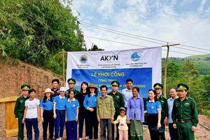 Thêm nhiều công trình thiện nguyện hướng đến bà con vùng biên tỉnh Quảng Bình