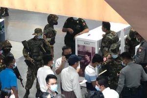 Myanmar: Hàng loạt vụ nổ làm rung chuyển Yangon