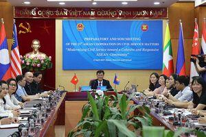 Các nước thành viên ASEAN quan tâm hiện đại hóa nền công vụ