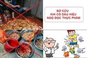 Cách xử trí ngộ độc thực phẩm