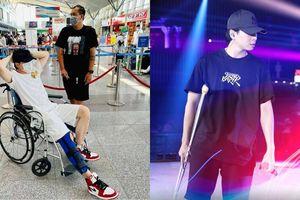 Gặp chấn thương nghiêm trọng, Karik vẫn không lỗi hẹn với 'Rap Việt All-Star Concert'