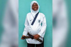 Vô địch Taekwondo khi đang mang thai tháng thứ 8