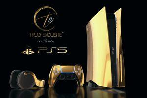 Trọn bộ PS5 bằng vàng