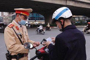 Xử phạt vi phạm giao thông trên 850 tỷ đồng trong ba tháng