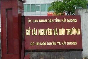 Cảnh báo tình trạng giả mạo cán bộ Sở Tài nguyên và Môi trường Hải Dương để bán tài liệu