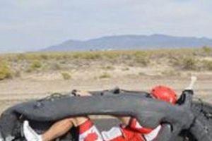 Xe đạp đạt kỷ lục thế giới với vận tốc 142km/h